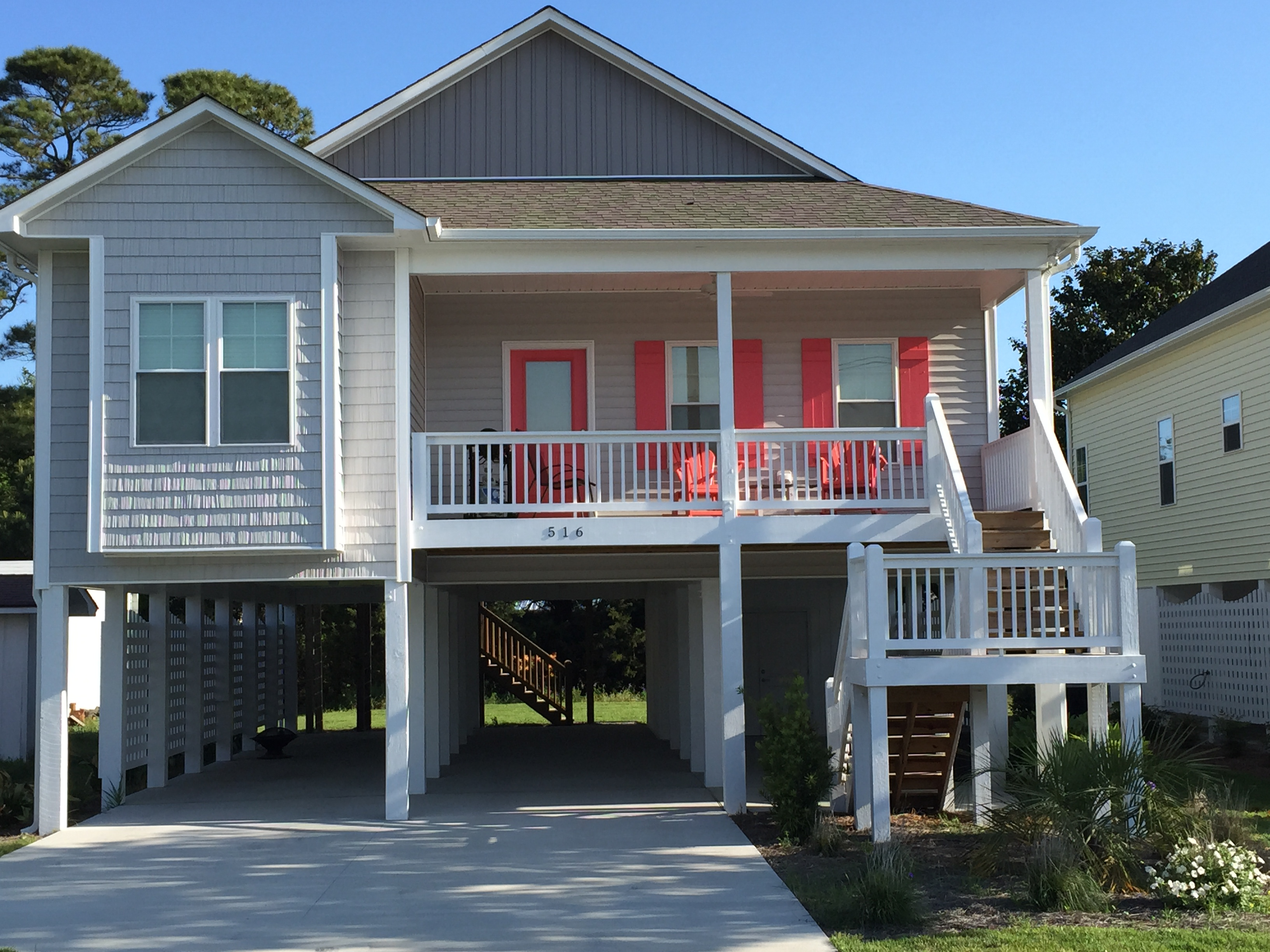 Our neighborhoods custom homes in wilmington nc for Cottage builders nc